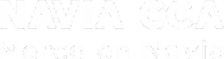 NAVIA CCA Logomarca 1 tinta blanca