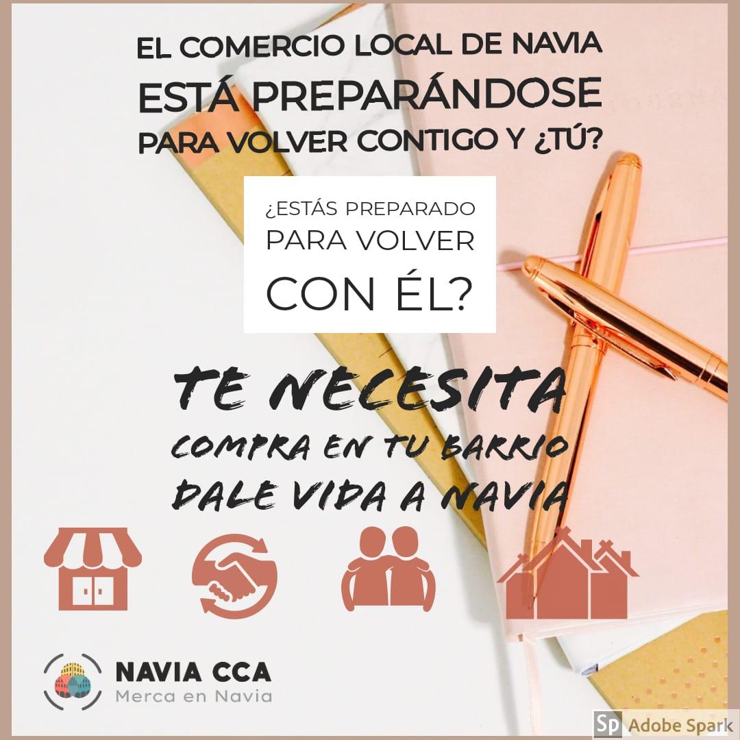 Comercio local de Navia